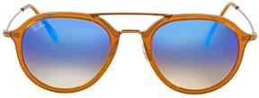 Ray-Ban Blue Gradient Flash Sunglasses RB4253 62388B