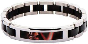 Star Wars FINE JEWELRY Two-Tone Stainless Steel Black IP Episode VII Kylo Ren ID Link Bracelet