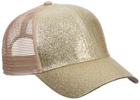Scala Glitter Baseball Cap
