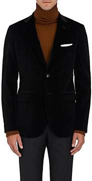 Boglioli Men's Velvet Two-Button Sportcoat