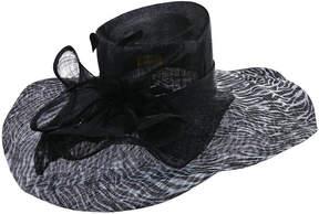 Scala Sinamay Derby Hat