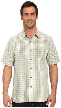 Royal Robbins Desert Pucker Plaid Short Sleeve Shirt Men's Short Sleeve Button Up