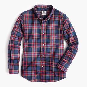 J.Crew Boys' Thomas Mason® for crewcuts flannel Ludlow shirt