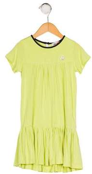Armani Junior Girls' Knit Embellished Dress