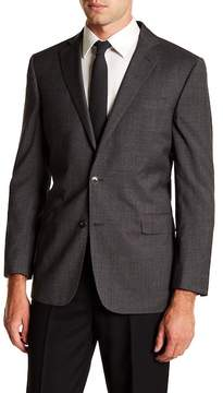 Brooks Brothers Notch Collar Front Button Solid Regent Fit Jacket