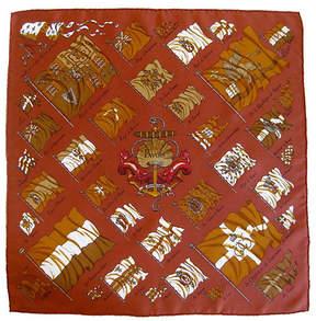 One Kings Lane Vintage HermAs Pavois Pochette Scarf - The Emporium Ltd.