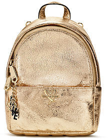 Victoria's Secret Victorias Secret Metallic Crackle Mini City Backpack