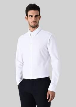 Giorgio Armani Cotton Jacquard Shirt