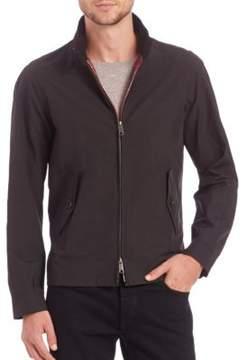 Baracuta Classic Tartan-Lined Jacket