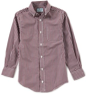 Class Club Little Boys 2T-7 Gingham Button-Down Long-Sleeve Shirt