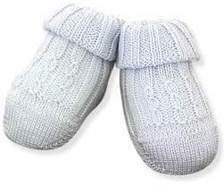 Ralph Lauren Infant's Cable-Knit Booties