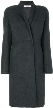 Chalayan raised collar coat
