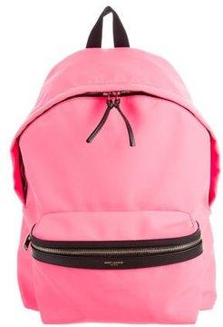 Saint Laurent Canvas Hunting Backpack