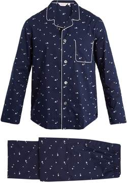Derek Rose Nelson cotton-batiste pyjama set