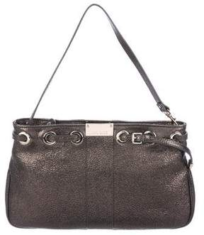 Jimmy Choo Metallic Leather Shoulder Bag