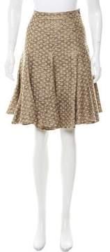 Matthew Williamson Patterned Flared Skirt