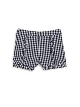 Design History Girl's Gingham Ruffle Shorts