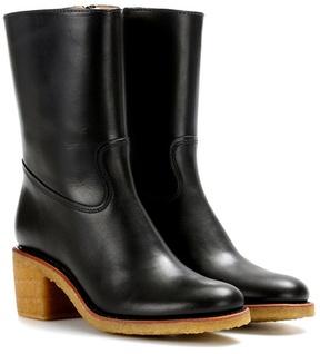 A.P.C. Paz leather boots