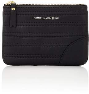 Comme des Garcons Men's Channel-Stitched Zip Pouch