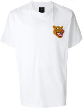 MHI embroidered animal T-shirt