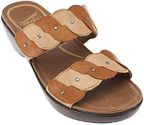 Dansko Double Strap Slip-on Sandals - Dee