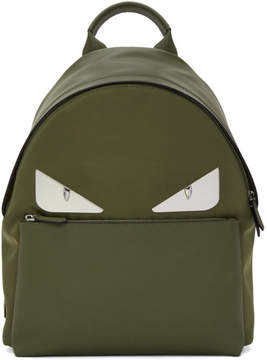 Fendi Green Bag Bugs Backpack