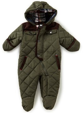 Starting Out Baby Boys 3-9 Months Quilted Footed Puffer Jacket