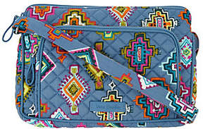 Vera Bradley As Is Signature Print Icon RFIDLittle Hip. CrssbdyBag - ONE COLOR - STYLE