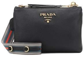Prada Daino Small leather crossbody bag