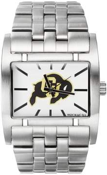 Rockwell Kohl's Colorado Buffaloes Apostle Stainless Steel Watch - Men