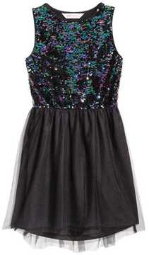 H&M Sequin-embroidered Dress