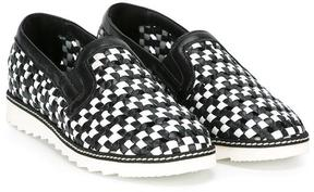 Dolce & Gabbana Kids woven sneakers