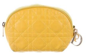 Christian Dior Lady Dior Cannage Cosmetic Bag