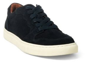 Ralph Lauren Jeston Suede Low-Top Sneaker Dark Navy 10.5