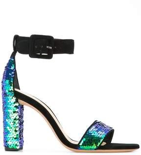 Alexandre Birman sequin embellished sandals