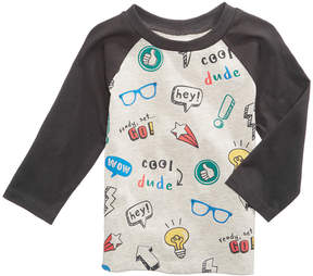 First Impressions Graphic-Print Long-Sleeve T-Shirt, Baby Boys (0-24 months), Created for Macy's