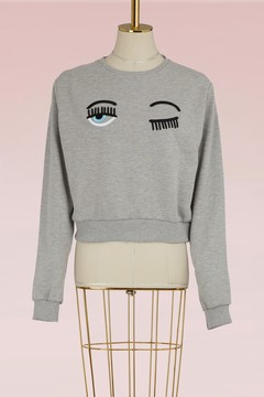 Chiara Ferragni Eyes Flirting sweatshirt