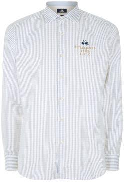 La Martina Striped Oxford Shirt
