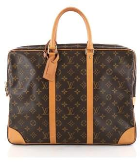 Louis Vuitton Pre-owned: Porte-documents Voyage Briefcase Monogram Canvas.