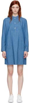 A.P.C. Indigo Saffron Dress