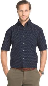 Arrow Big & Tall Printed Button-Down Shirt