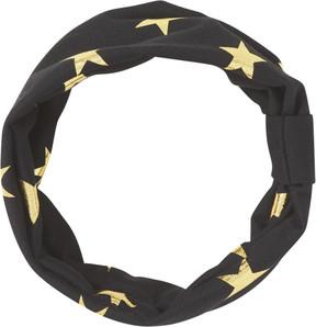 Scunci Black Headwrap w/ Gold Stars