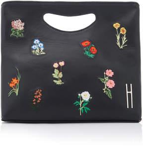 Hayward 1712 Embroidered Leather Basket Bag