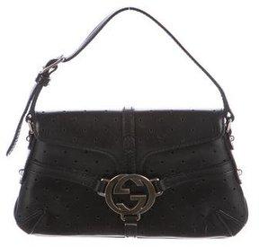 Gucci Mini Perforated Reins Pochette - BLACK - STYLE