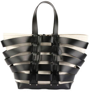 Paco Rabanne Cage North-South Tote Bag