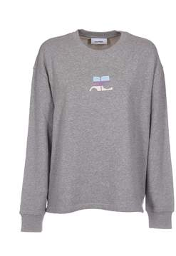 Courreges Logo Patch Sweater