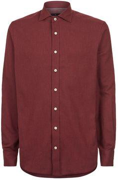 Hackett Slim-Fit Cotton Shirt