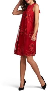 ECI Women's Embroidered Shift Dress