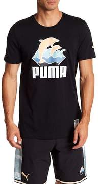 Puma Waves Logo Tee