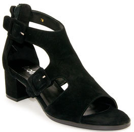 Footnotes Orly - Buckled Suede Sandal